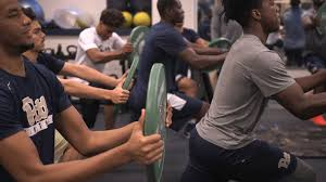 Floor Wipers 50 Reps by Panther Challenge Continues With Weight Room Workout University