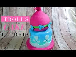 trolls cake eng delicious sparkly cake youtube birthday