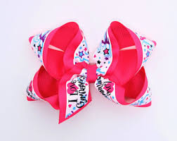 ribbon for hair that says gymnastics gymnastics bows etsy