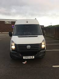 volkswagen crafter back 2012 vw crafter mobile tyre fitting van no vat bargain price 11000