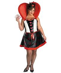 deluxe plus size halloween costumes queen of hearts plus size disney costume costumes
