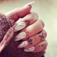 cuticle tattoo ideas popsugar beauty