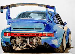 bisimoto porsche 996 bisimoto porsche 911 twin turbo drawing by hary1908 on deviantart