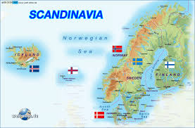 Faroe Islands Map Map Of Scandinavia Several Countries Map In The Atlas Of The