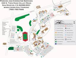 San Diego State University Campus Map by Cal State San Marcos Maplets