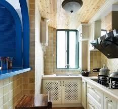 The Mediterranean Kitchen - the mediterranean style l shaped kitchen renovation interior design