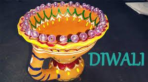 how to make diya decoration ideas for dipawali christmas diy home how to make diya decoration ideas for dipawali christmas diy home decore 2016 youtube