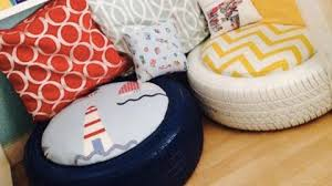 if you need some extra seating or a cute little ottoman watch what
