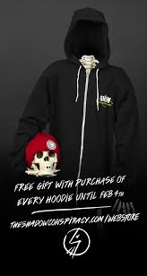 free mystery gift with purchase of a hoodie the shadow conspiracy