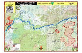 Ruby Map Galena Zone Fires Update July 9 Ak Fire Info