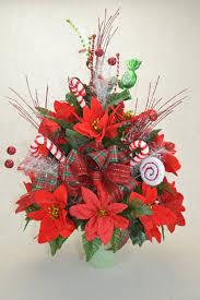 no cc011 holiday christmas silk flower cemetery cone vase