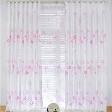 pink blackout curtains made of cotton and poly for girls buy