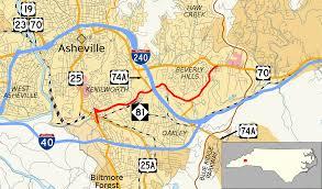 Map Of Asheville Nc North Carolina Highway 81 Wikipedia