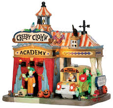 lemax spooky town creepy clown academy
