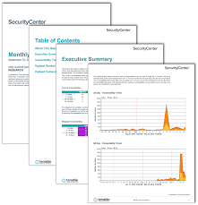 Monthly It Report Template For Management by Monthly Executive Report Sc Report Template Tenable