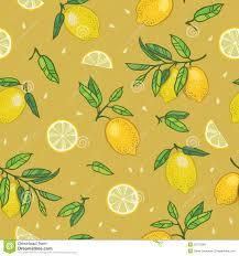 seamless lemon pattern seamless pattern with lemons stock vector illustration of juicy