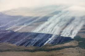 Wildfire Yukon by Some Western Alaska Fires Contained Including Blaze Near Anvik