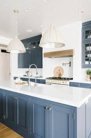 blue kitchen cabinets transitional kitchen with blue gray cabinets town