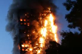 concrete fire pit exploding at least six people confirmed dead in grenfell tower fire metro news