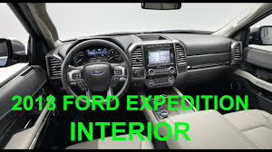 all new 2018 ford expedition interior tv car youtube