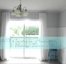 curtains ideas kitchen door curtain panels