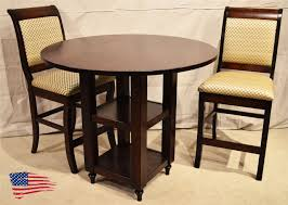 Amish Bookshelves by Amish Shelf Pub Table Jasen U0027s Fine Furniture Since 1951