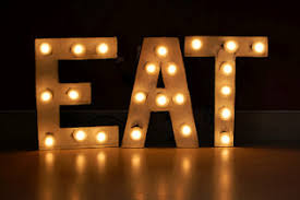 light up letters diy how to make vintage y sign with cardboard letters and market lights