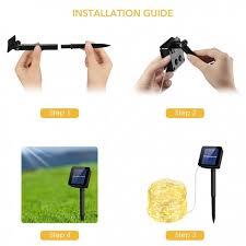 mpow solar light instructions 100 led fairy lights mpow solar string light xmas lights romantic