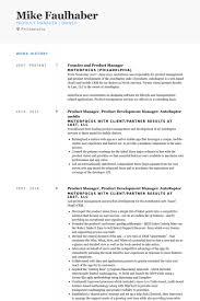 Transportation Manager Resume Product Manager Resume Samples Visualcv Resume Samples Database