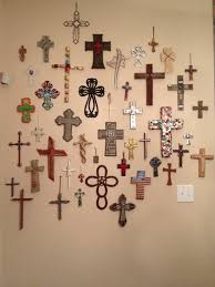 crosses wall decor wall shelves