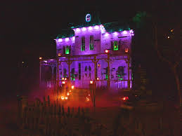 Halloween Yard Lighting Great Halloween Home Haunts Of Los Angeles One Dark Halloween Night