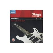light electric guitar strings stagg el 0946 nickel plated steel 09 46 custom light electric