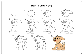 how to draw a dog dr odd