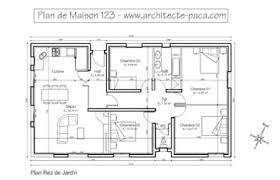 plan de maison de plain pied avec 4 chambres plan maison plain pied 4 5 pièces 180 m d architecte 123 villa