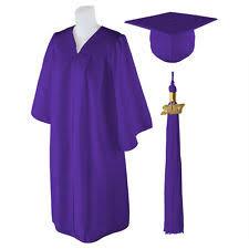 purple graduation cap graduation cap and gown clothing shoes accessories ebay