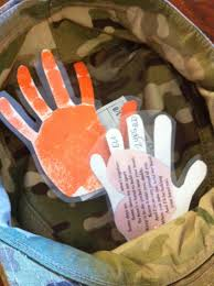 a hand to hold dammit made me cry lol deployment