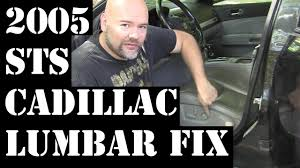 2005 cadillac sts lumbar repair 320hp v8 rwd luxury northstar