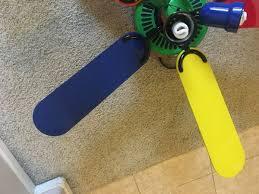 primary color ceiling fan 52 hton bay kids ceiling fan carousel brand 4 light kit