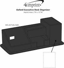 Executive Desk Organizer 4imprint Oxford Executive Desk Organizer 143871 Imprinted