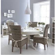round dining table 4 chairs classic wicker round white dining table and 4 chair set azura home