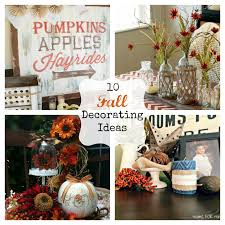 Fun Diy Home Decor Ideas by 10 Fall Decorating Ideas Fun Home Things
