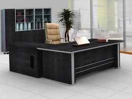 black executive desk idea for your office thediapercake home trend