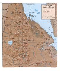 Ethiopia World Map by