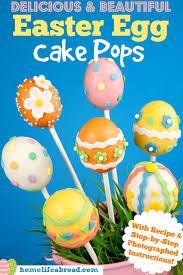 easter cakepops easter egg cake pops with recipe photo
