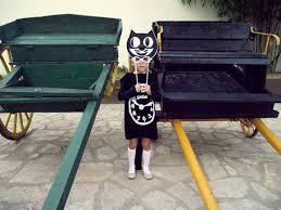 Clock Halloween Costume Diy Kit Cat Clock Costume Handmade Charlotte