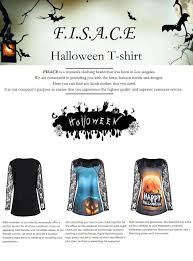 Plus Size Halloween T Shirts by Fisace Women Plus Size Lace Insert Halloween Pumpkin T Shirt Tops
