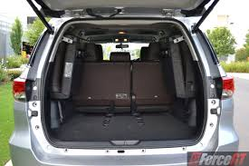 lexus nx luggage capacity toyota fortuner review 2016 toyota fortuner
