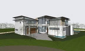 home design za south modern african house plans modern house plan