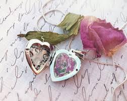 in loving memory lockets dried flower locket etsy