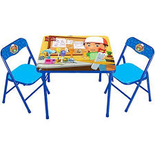 5 Piece Folding Table And Chair Set Folding Table Childrens Furniture Roselawnlutheran